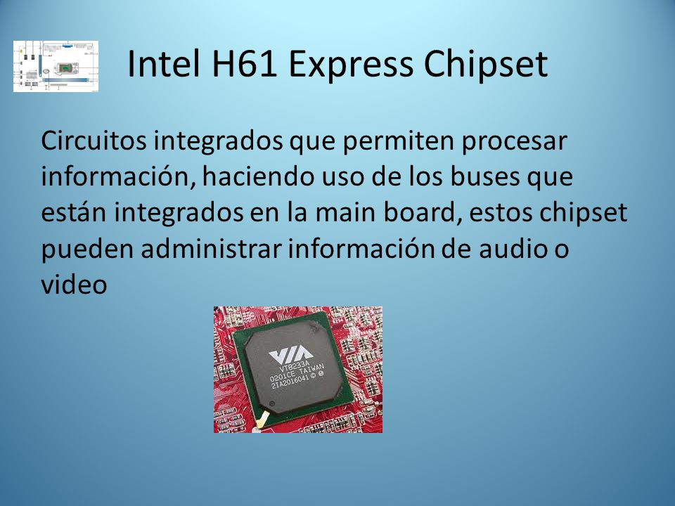 Intel H61 Express Chipset