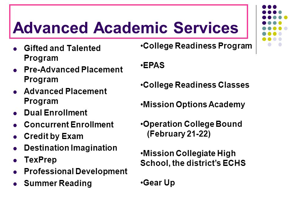 Advanced Academic Services