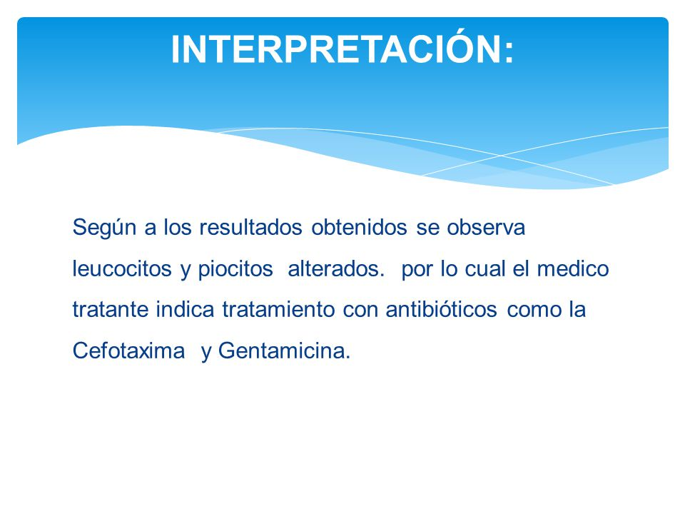 INTERPRETACIÓN: