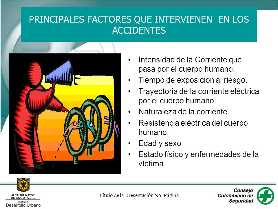 PRINCIPALES FACTORES QUE INTERVIENEN EN LOS ACCIDENTES