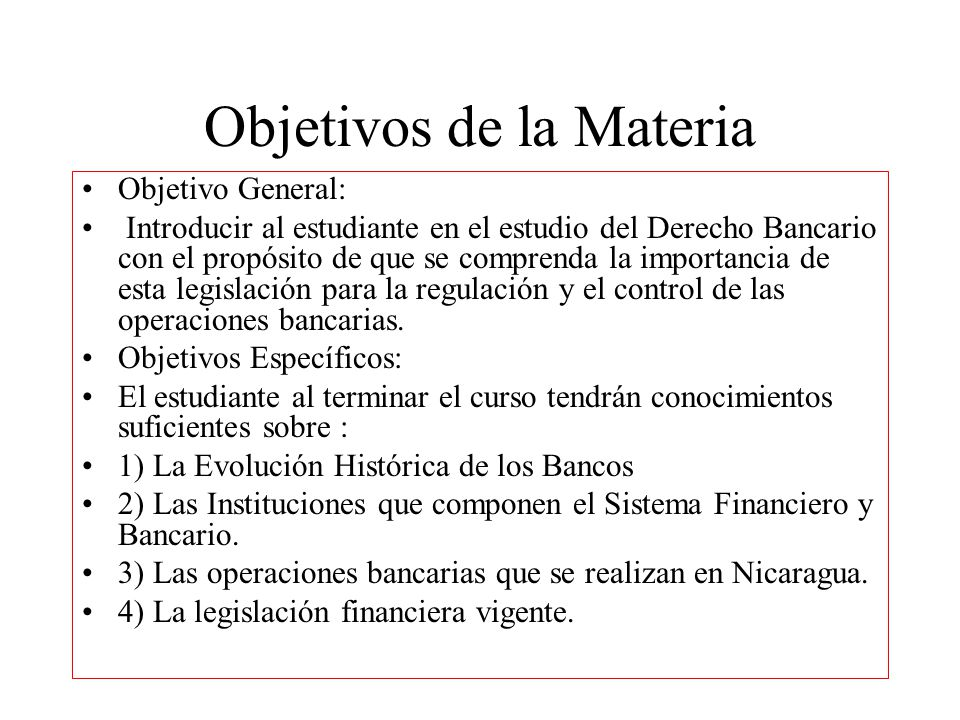 Vistoso Objetivo De Resumen Bancario Fotos - Colección De Plantillas ...