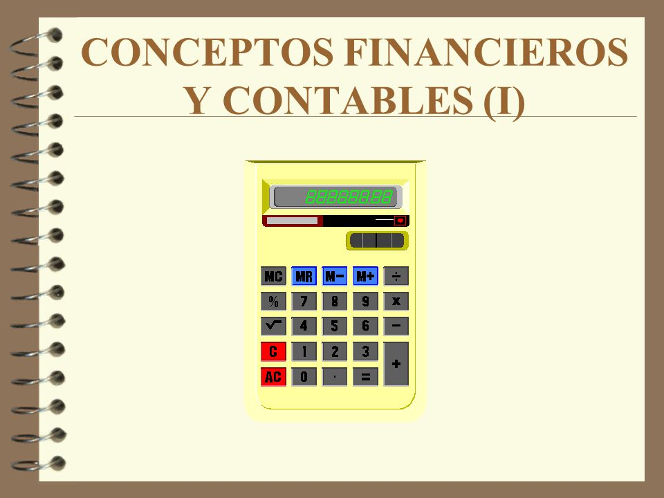 CONCEPTOS FINANCIEROS Y CONTABLES (I)