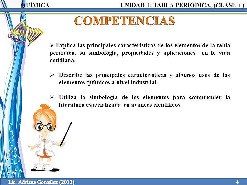 Clase 4 1 tabla peridica unidad elaborado por ppt video online 4 lic urtaz Image collections