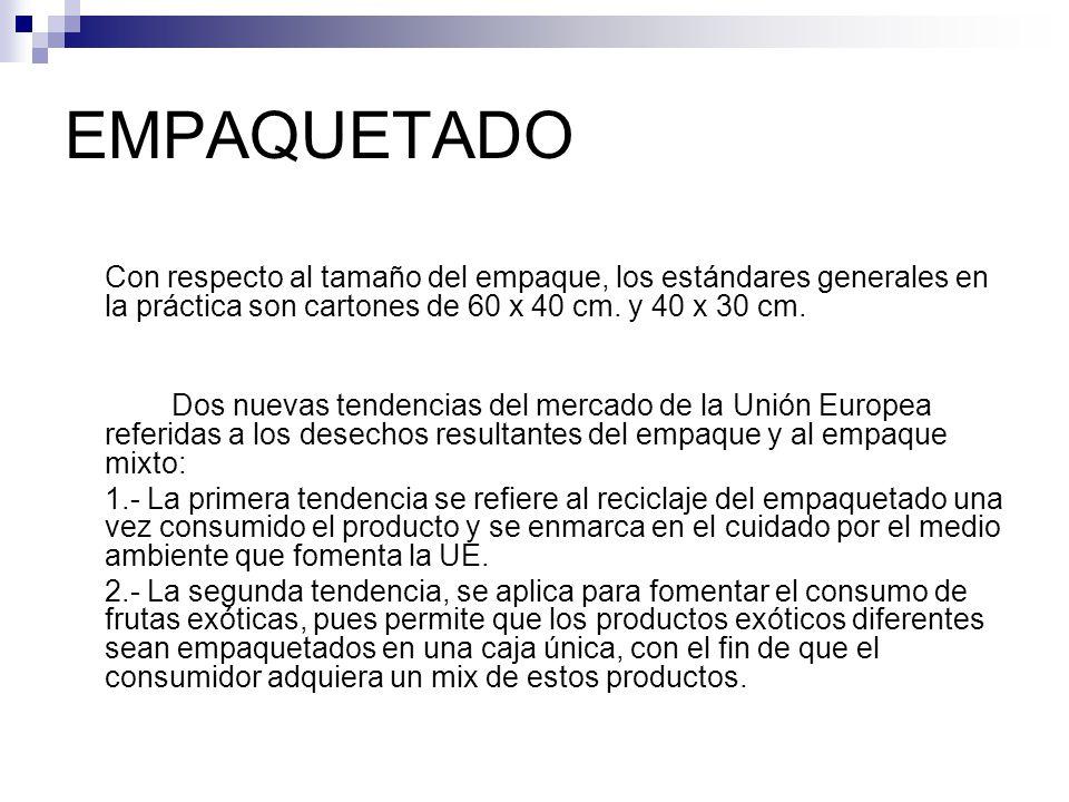 Exportación de Frutas y Verduras a la Unión Europea - ppt video ...