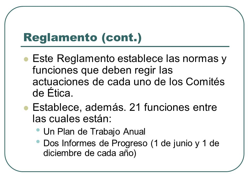 FUNCIONES COMITE DE ETICA GUBERNAMENTAL UPR - HUMACAO