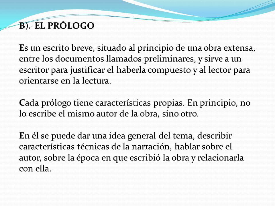 Caracteristicas de los prologos yahoo dating