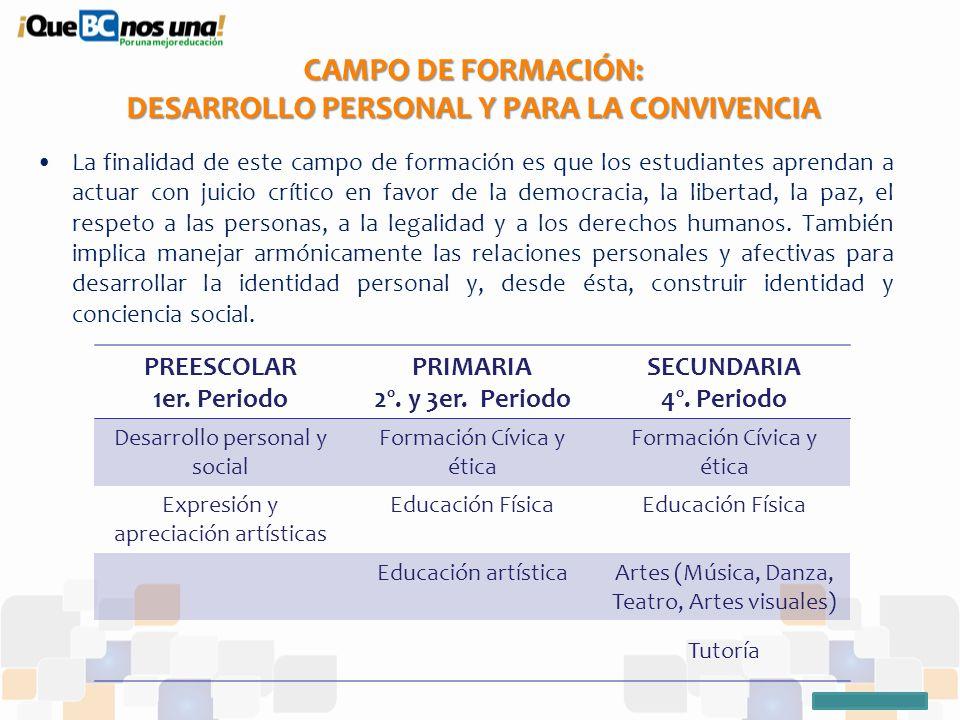 El Plan De Estudios 2011 Desde Los Estándares Curriculares