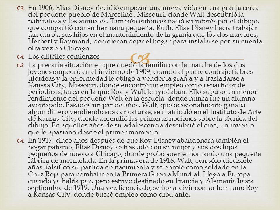 Elías Walt Disney Nombre de maestro(a):Deyanira Velázquez Alvarado ...