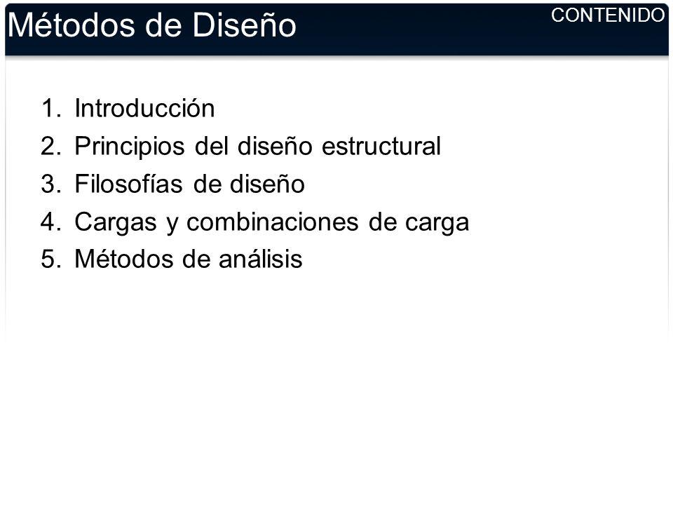 Métodos de Diseño Introducción Principios del diseño estructural ...