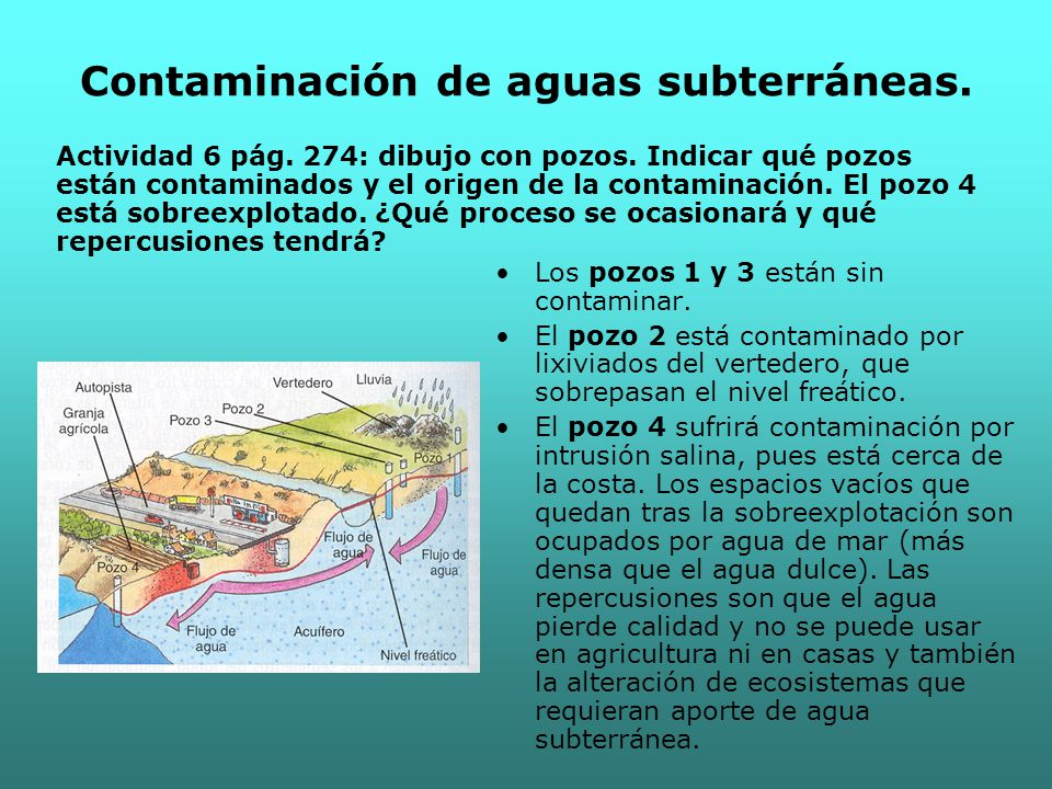 ac474067a86 Unidad 11  Contaminación de las aguas. - ppt descargar