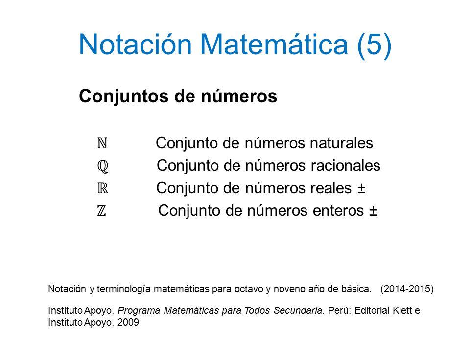 Notación Matemática (1) - ppt video online descargar