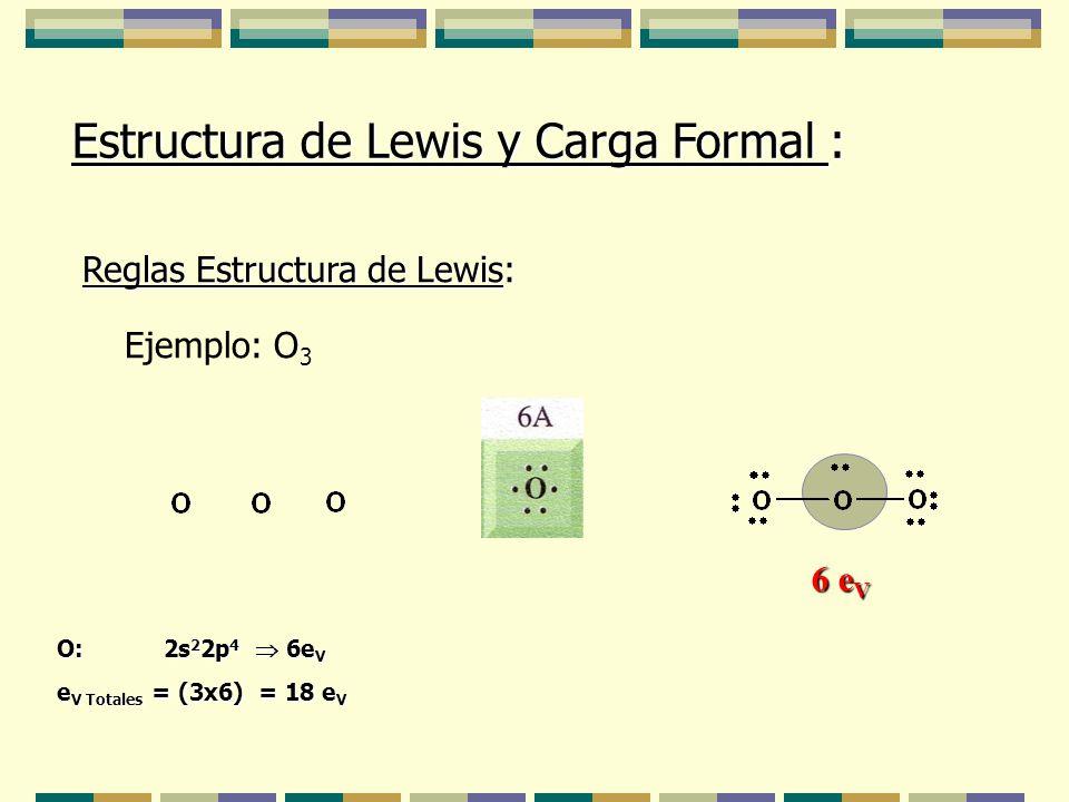 Estructura De Lewis Y Carga Formal Ppt Descargar
