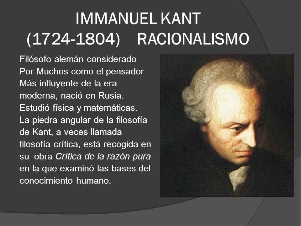 immanuel kant: knowledge is both rational and empirical essay A reflection essay on kant's claims regarding knowledge and the distinction between things known a priori--purely through reason--and those known that being said, kant's claim that knowledge is not solely rational nor solely empirical but a combination of both is one i am inclined to agree with, in.