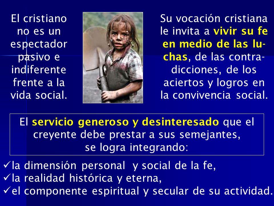 Resultado de imagen de obligaciones sociales del cristiano
