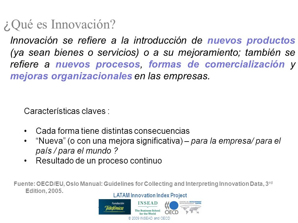 LATAM Innovation Index Project