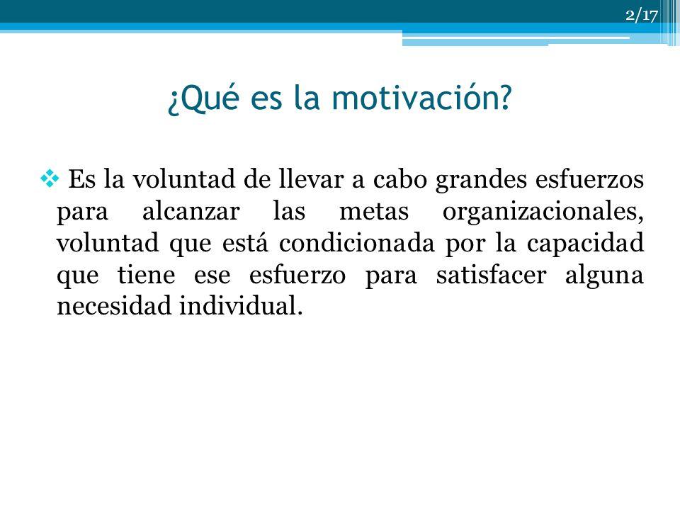 Capítulo 6 Conceptos Básicos De Motivación Ppt Descargar