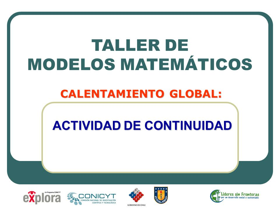 CALENTAMIENTO GLOBAL: