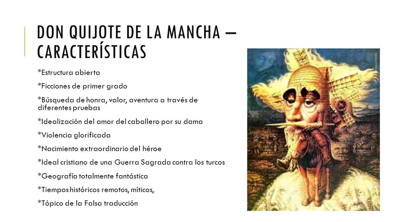 Las Novelas De Caballería Y Don Quijote De La Mancha Ppt