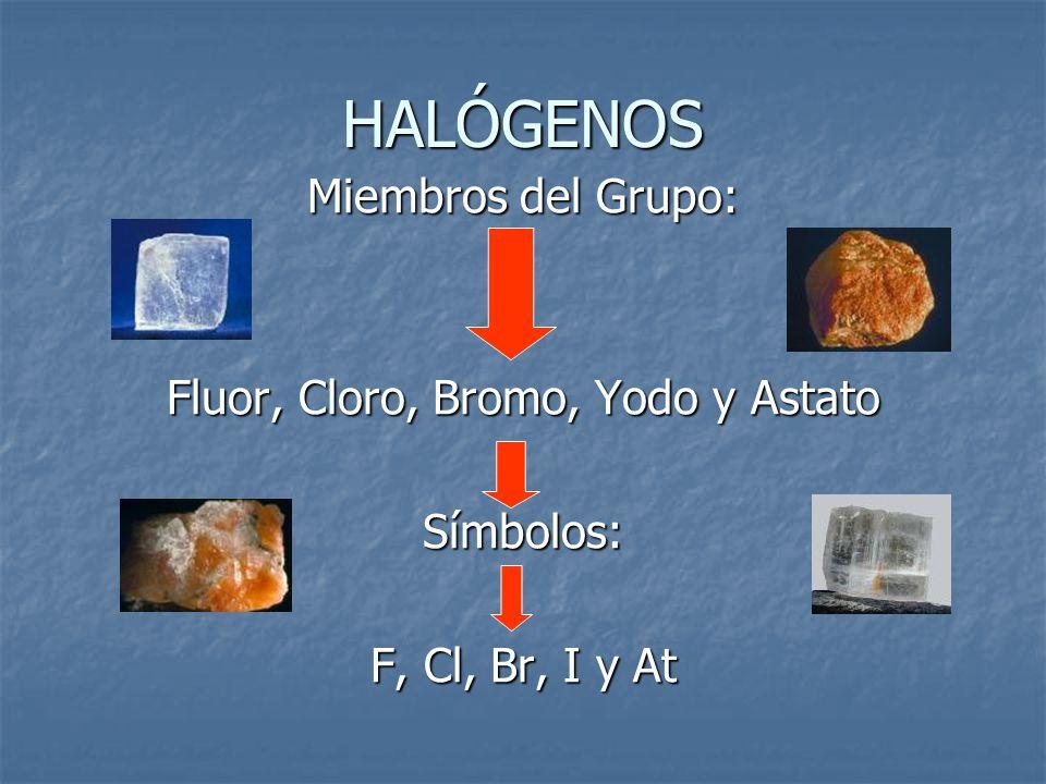 Halogenuros la combinacin binaria de elementos pertenecientes a la 2 fluor urtaz Images