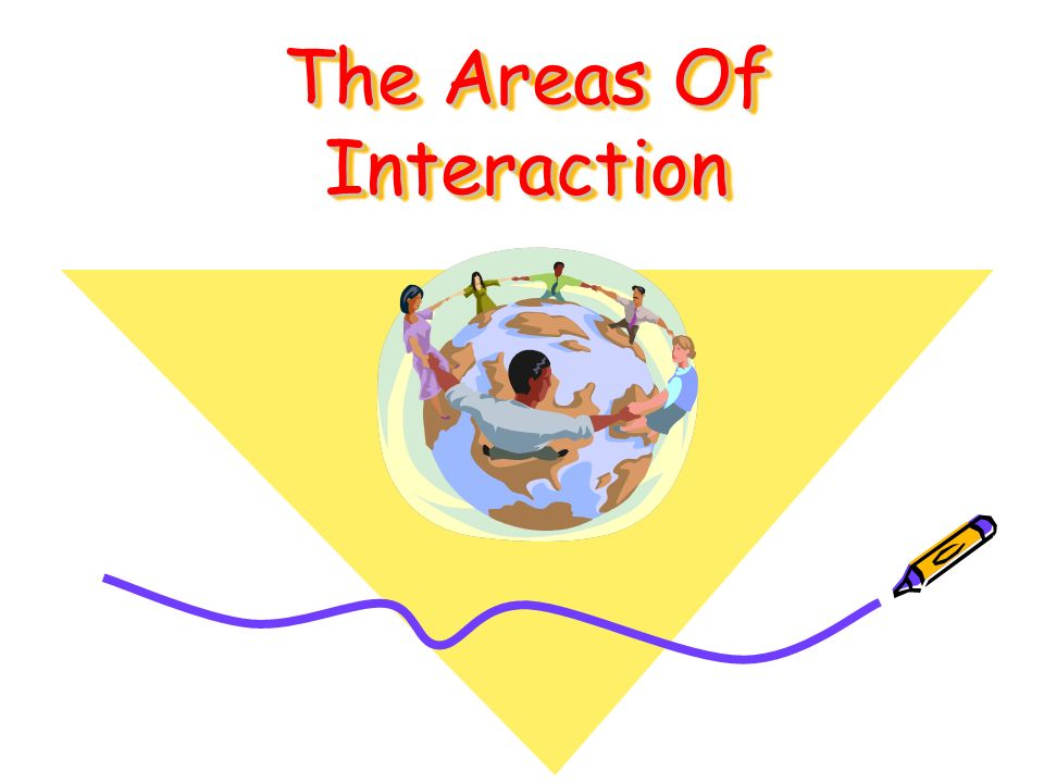 The Areas Of Interaction