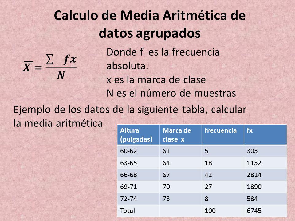 Como sacar la mediana en datos agrupados