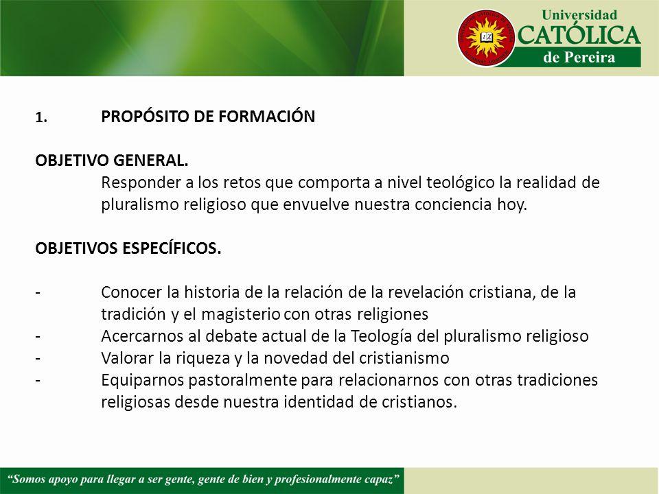PLURALISMO EN LA IGLESIA CATOLICA,EL
