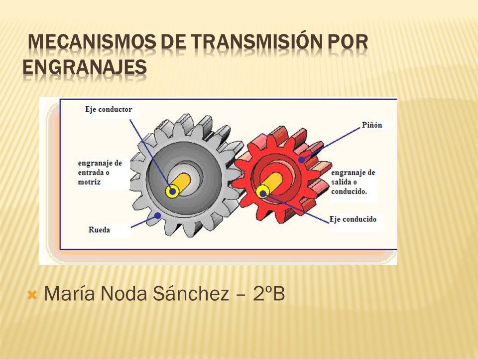 Transmision por engranajes pdf