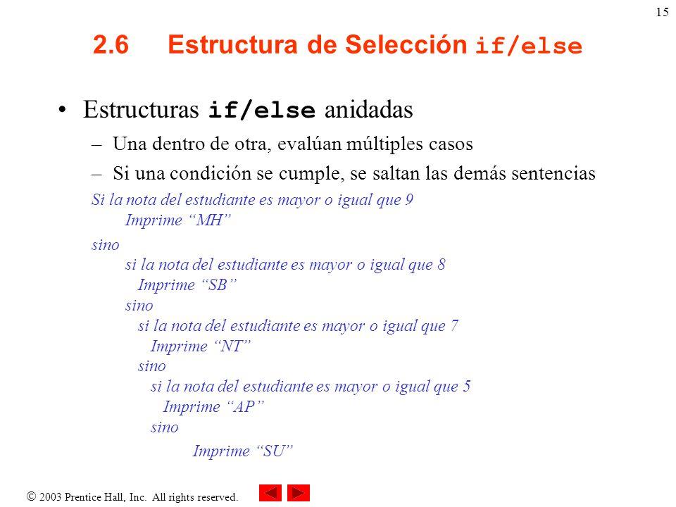 Capítulo 2 Estructuras De Control Ppt Descargar