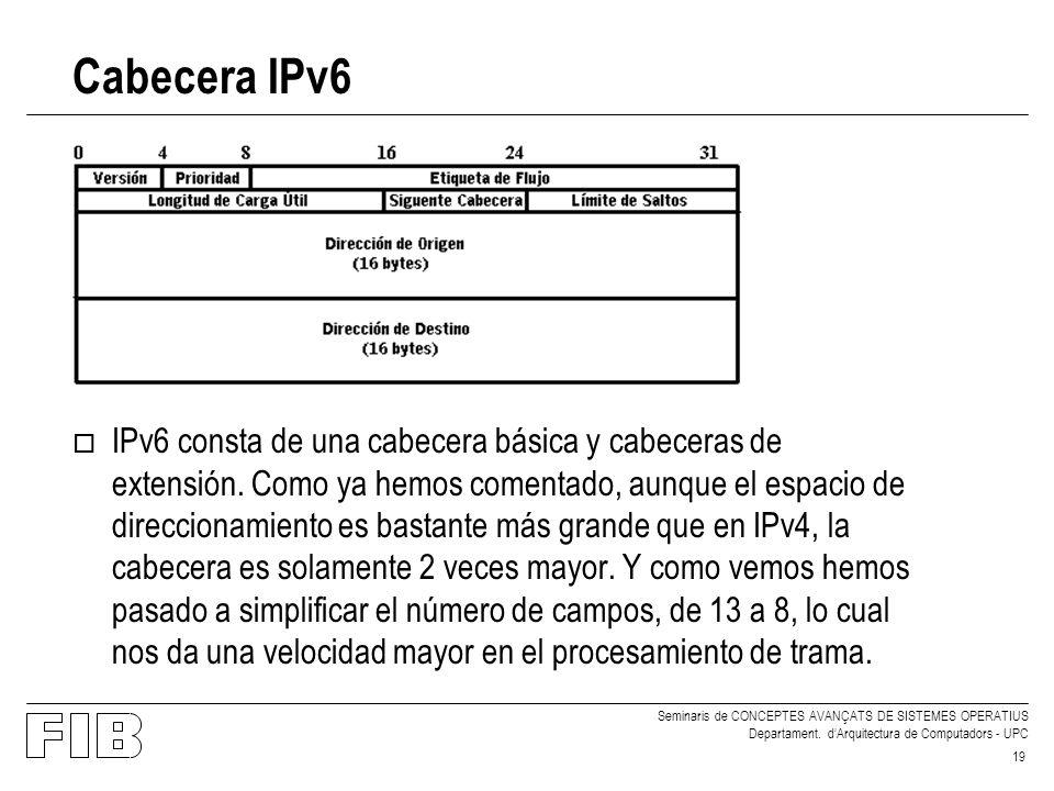 IPv6. Visión general y comparativa con el actual IPv4 - ppt descargar
