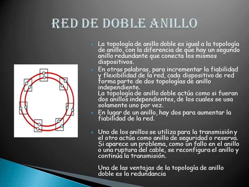RED DE DOBLE ANILLO