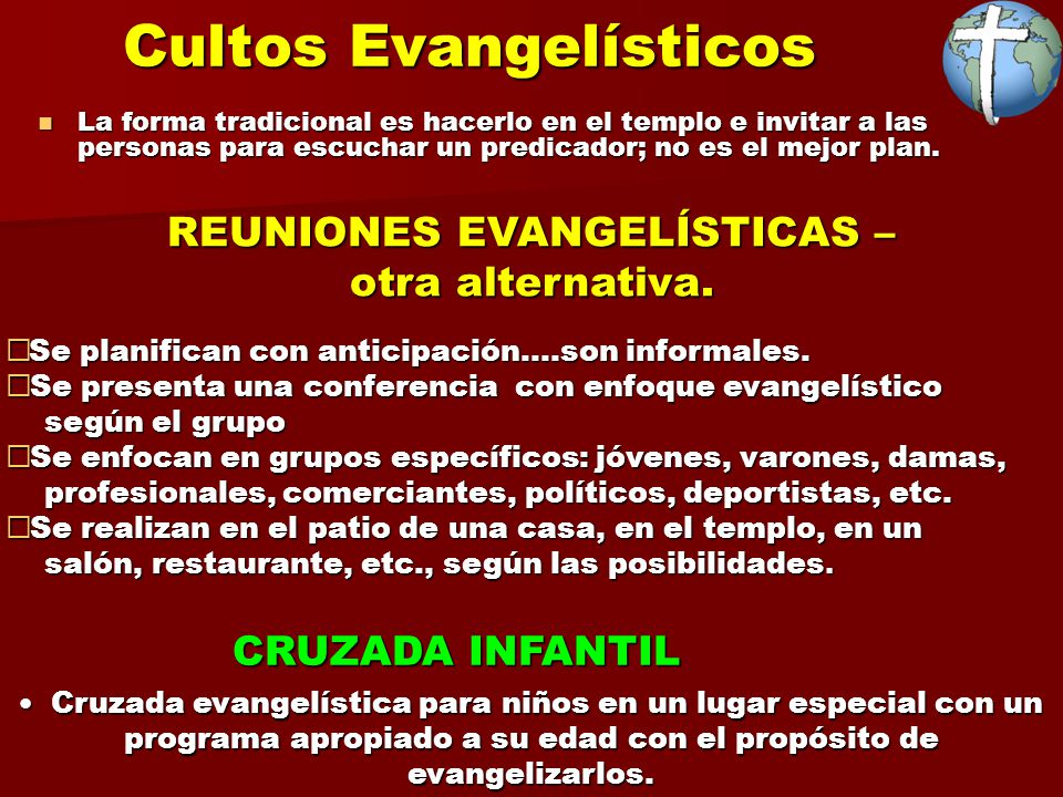Invitacion Culto Especial