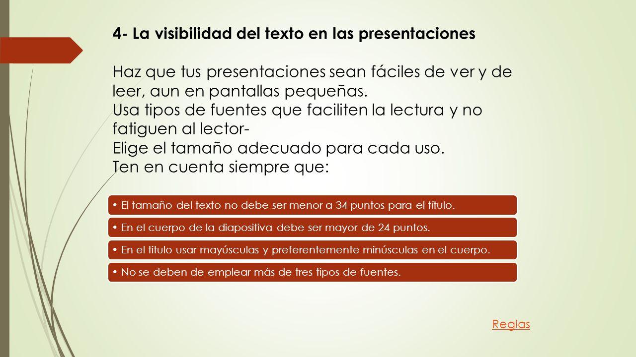 Reglas de Oro para crear una presentación de diapositivas exitosa ...