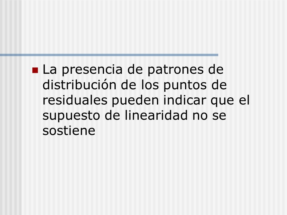 REGRESION LINEAL III Mario Briones L. MV, MSc ppt descargar