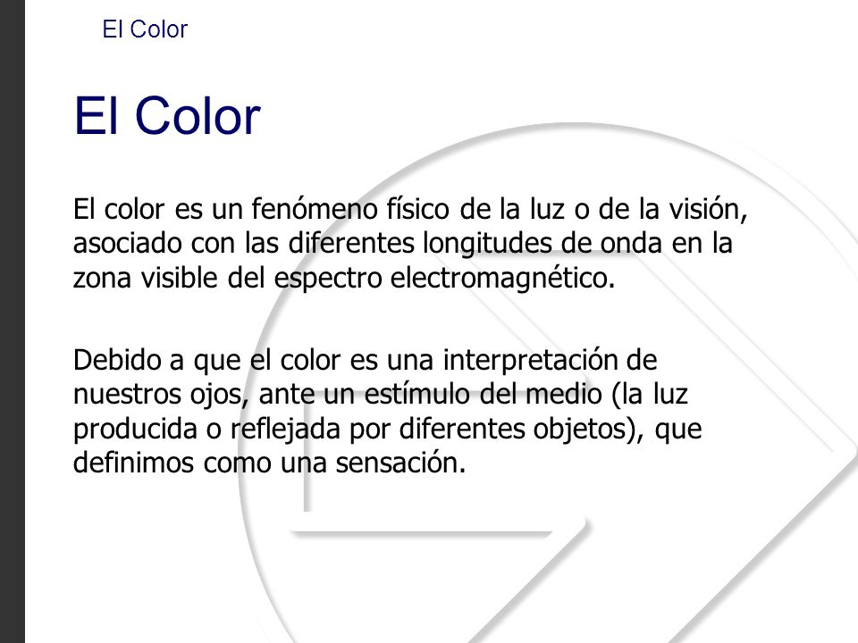 El Color El Color.