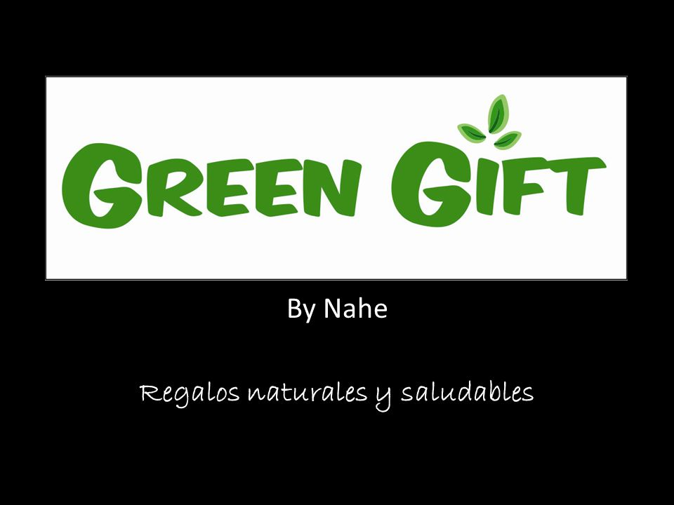 By Nahe Regalos naturales y saludables