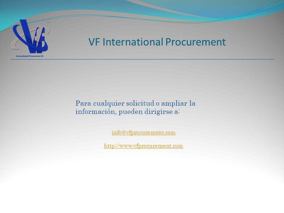 VF International Procurement