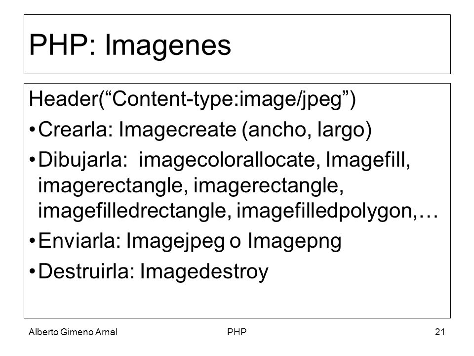 PHP: Imagenes Header( Content-type:image/jpeg )