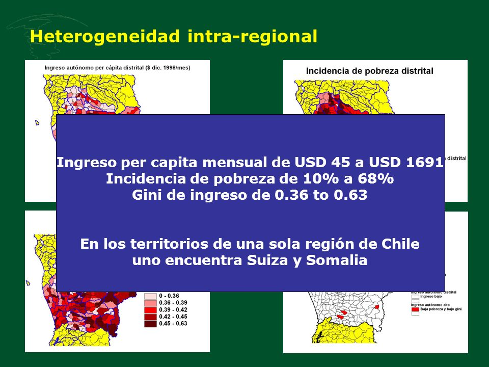 Heterogeneidad intra-regional