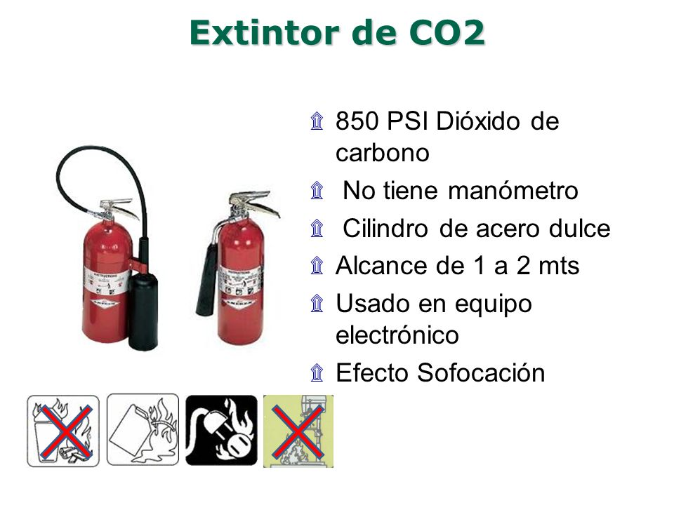 Conceptos bsicos de qumica del fuego ppt video online descargar 25 extintor de co2 thecheapjerseys Image collections
