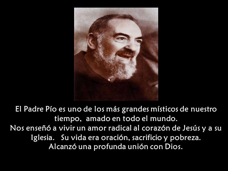 San Padre Pío De Pietrelcina Ppt Descargar