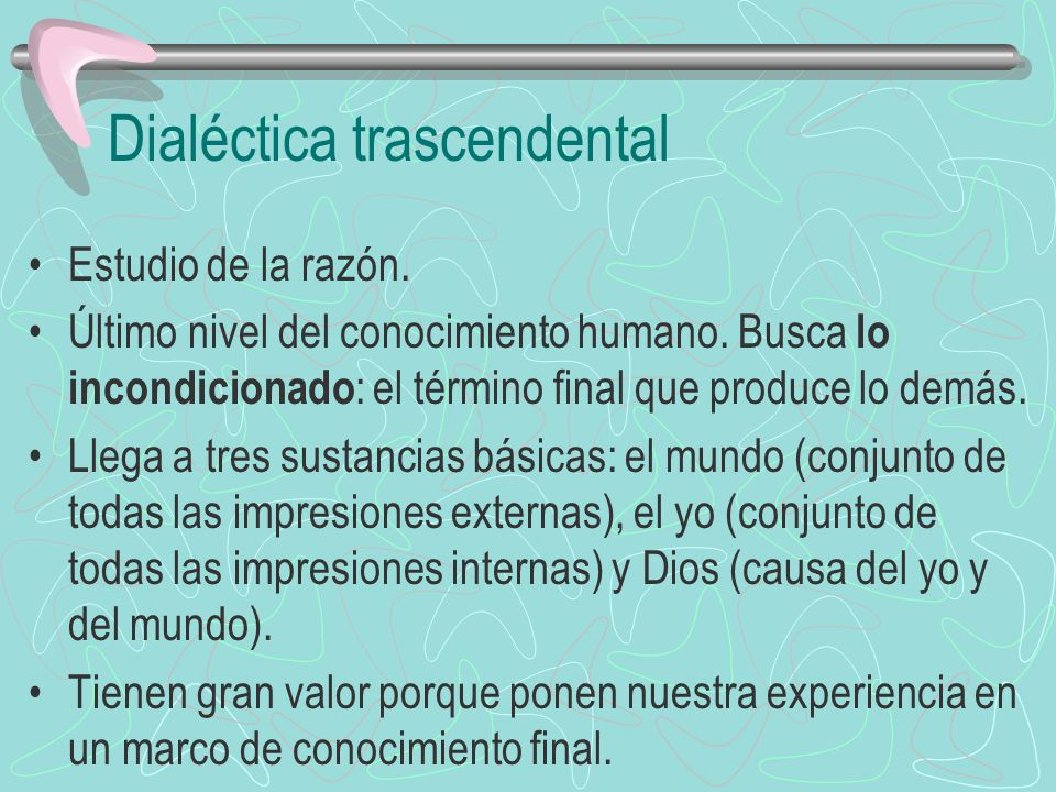 Dialéctica trascendental