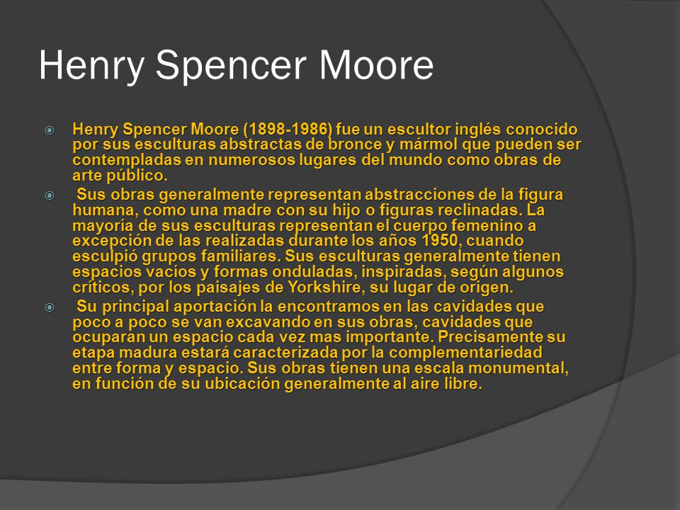 Henry Spencer Moore