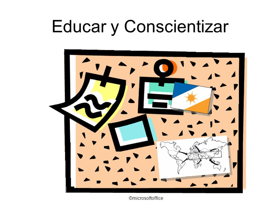 Educar y Conscientizar