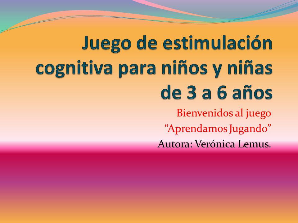 Juego De Estimulacion Cognitiva Para Ninos Y Ninas De 3 A 6 Anos