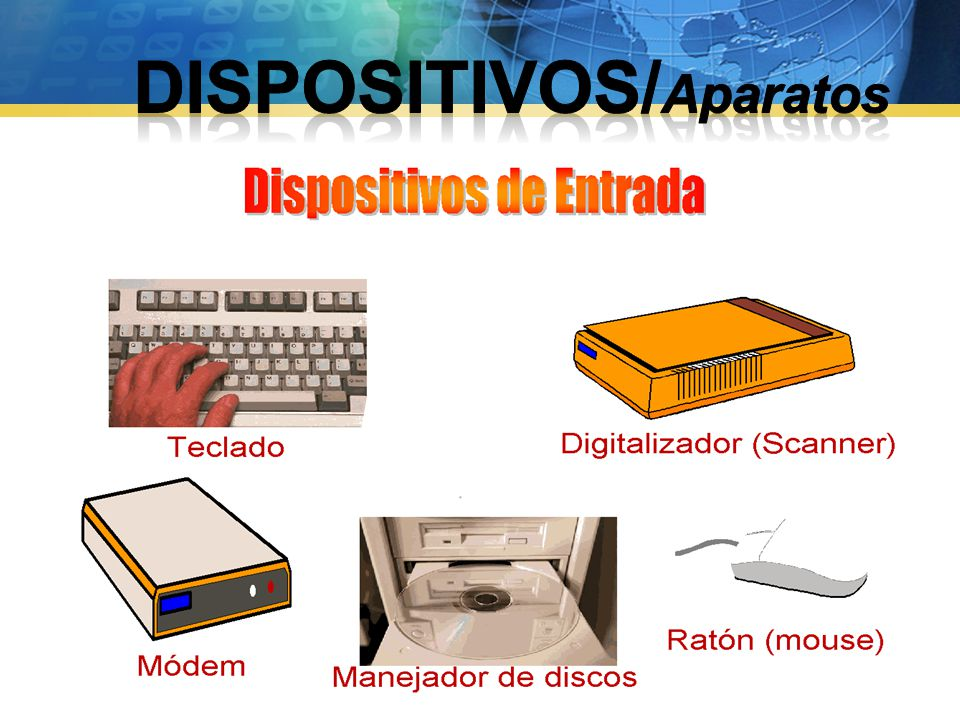 DISPOSITIVOS/Aparatos