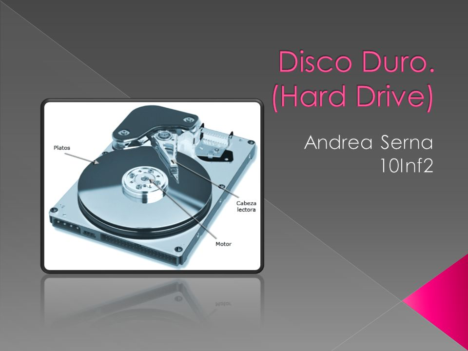 Disco Duro. (Hard Drive)