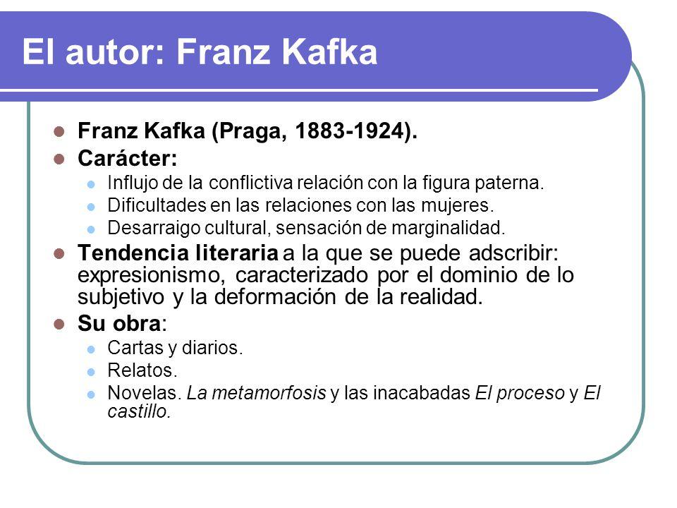 Tema 4 La Metamorfosis De Franz Kafka Ppt Video Online