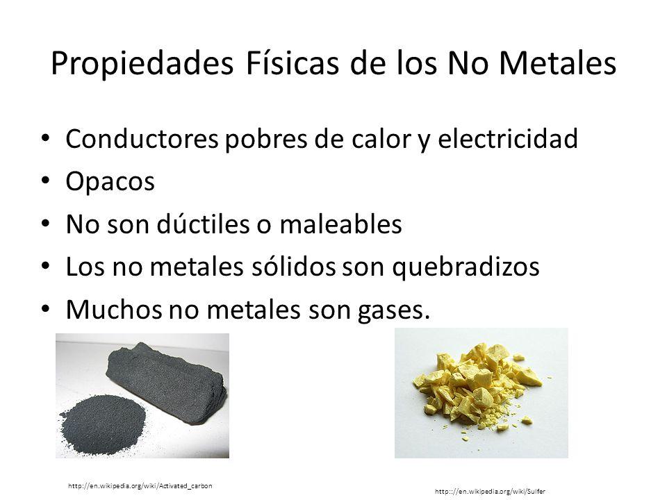 Propiedades fsicas de metales no metales y metaloides ppt video propiedades fsicas de los no metales urtaz Choice Image