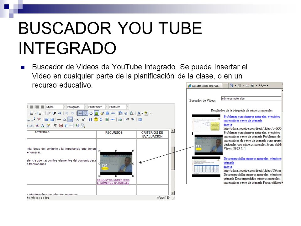 BUSCADOR YOU TUBE INTEGRADO