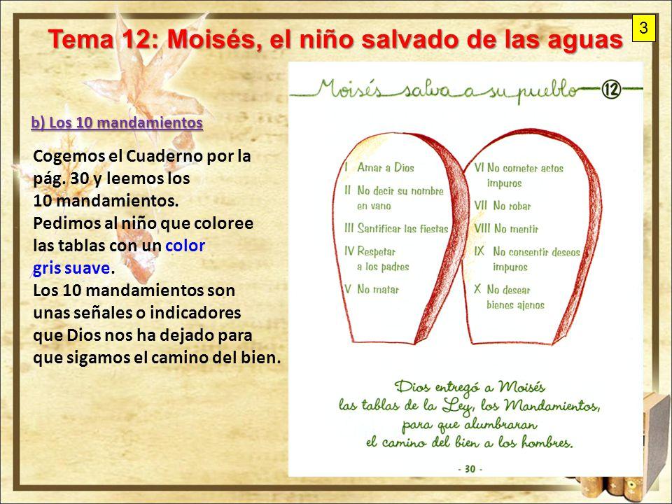 Tema 12: Moisés, el niño salvado de las aguas - ppt video online ...